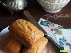 Tortine al burro di arachidi con glassa allo sciroppo d'acero