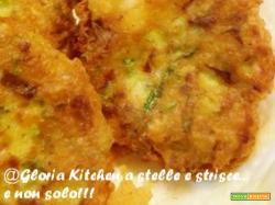 Frittelle di Zucchine, Quinoa e Curcuma di Gloria KitchenUSA