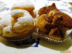 Bignè siciliani crema e cioccolato