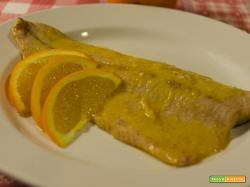 Filetti di trota salmonata agli agrumi