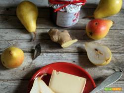 Chutney di pere, zenzero e bacche di Goji...ed è Christmas Edition!