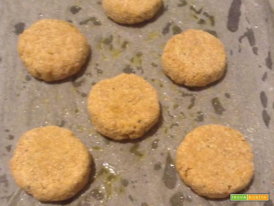 Polpette di miglio patate e peperoni