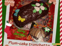 PLUM-CAKE TRONCHETTO DI NATALE - Speciale Natale