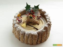 Torta Charlotte Natalizia (gusto tiramisù)