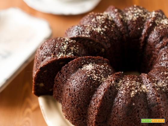Ciambella al cacao senza burro