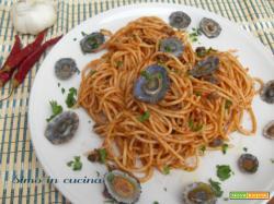 Spaghetti alle lampade