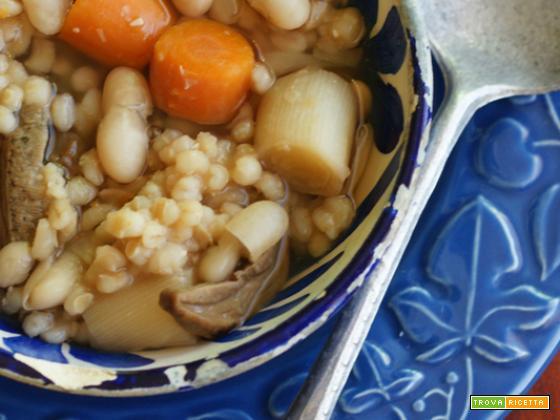 Krupnik, zuppa d'orzo askenazita