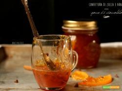 Confettura di zucca e arancio con gocce di cioccolato