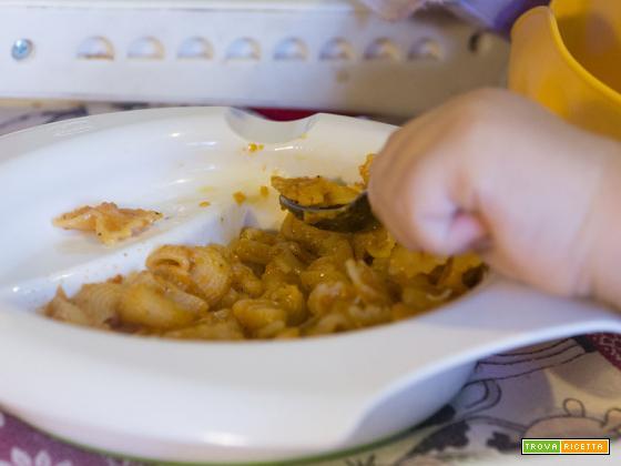 Pasta con zucchine e pomodoro – per grandi e piccini