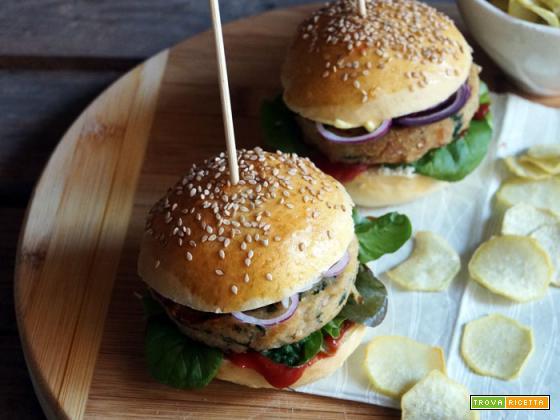 Burger di tonno e buona domenica!