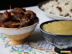TAVOLA DI NATALE BRASILIANA – 5: Ameixa com bacon e Purê de maçã (Prugna con pancetta e Purè di mela)
