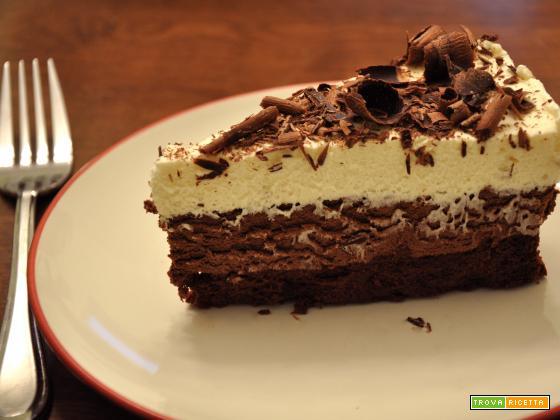 Torta mousse triplo cioccolato