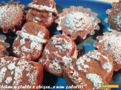 Tortine Ciocco Morbide di Avena con Yogurt Greco di Gloria KitchenUSA