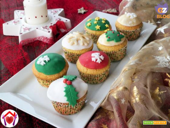 Muffin con cannella e arancia per Natale