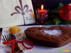 Torta morbida al cioccolato e kumquat canditi