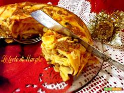 Timballo di pasta alla bolognese