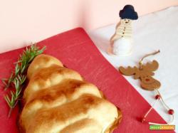 Albero di Natale ai Funghi e Pancetta