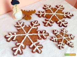 Biscotti Fiocco di Neve Giganti