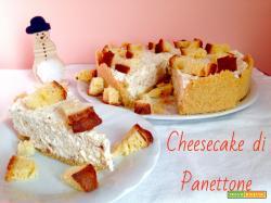Cheesecake di Panettone