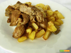 Un classico della cucina italiana: abbacchio con patate