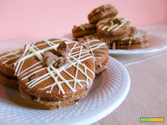 Biscotti al Caffè con Crema di Nocciole