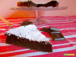 Torta al Cioccolato 3 Ingredienti