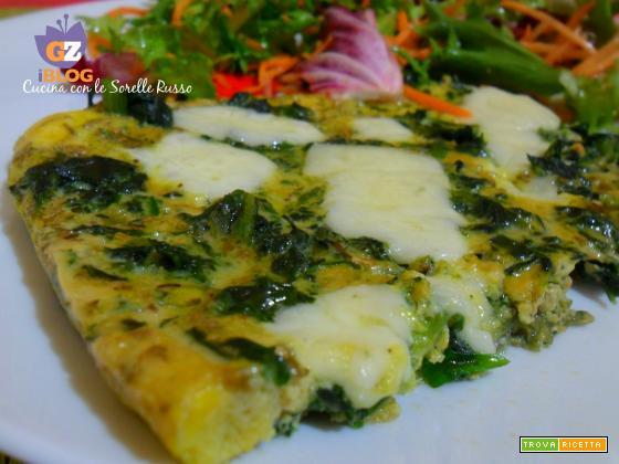 Frittata al forno alle tre verdure
