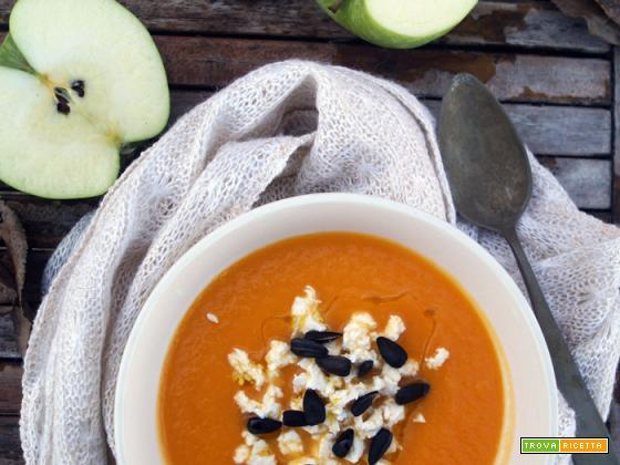 Settimana detox: Vellutata di mele e carote