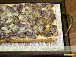 pizza di patate viola