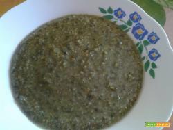 Bimby, Pesto al Pistacchio