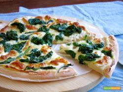 Pizza Bianca con Ricotta e Spinaci