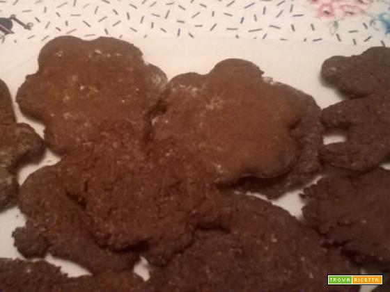 biscotti farina castagne cacao