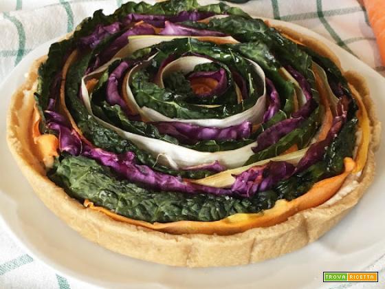 Brisée al Kamut e Torta Salata dai Sapori Invernali