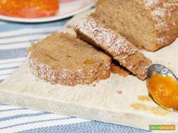 Tronchetto con farina di Castagne, Cachi e Grano Saraceno (senza glutine, né lattosio)