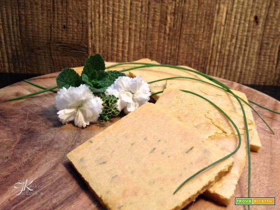 Farinata di ceci con erbe aromatiche