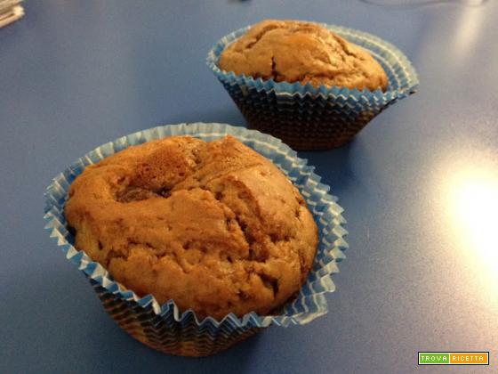Con e Senza Bimby, Muffin con Cuore Fondente di Nutella