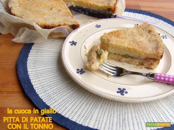 Pitta di patate con il tonno
