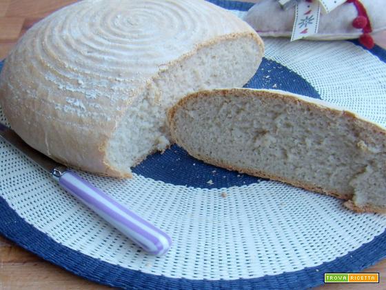 Pane al farro con esubero di pasta madre