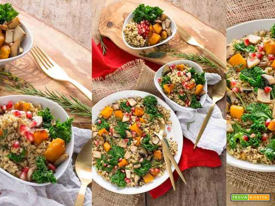 PILAF di QUINOA e LENTICCHIE | vegan senza glutine