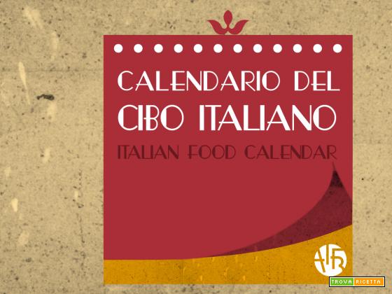 Felice Anno con il Calendario del Cibo Italiano