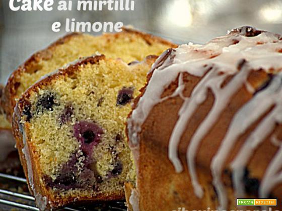 Cake ai mirtilli e limone