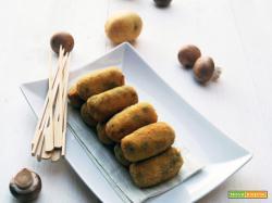 Crocchette di funghi e patate