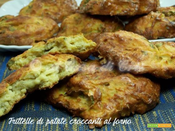 Frittelle di patate croccanti al forno