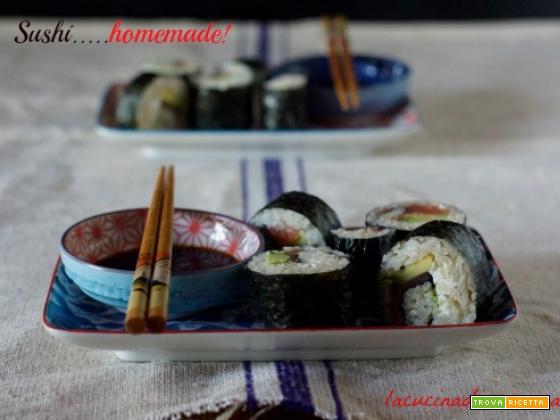 IL MIO SUSHI….HOMEMADE!!!!