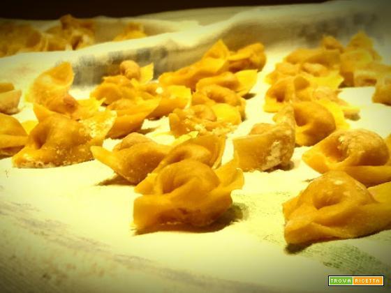 I tortellini emiliani: amore a primo assaggio