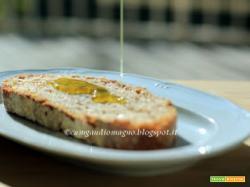 Una giornata al frantoio... e un pane profumato con l'olio novello