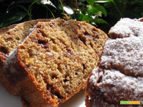 Chocolate banana bread, ovvero Plumcake di banane e cioccolato con esubero di banane