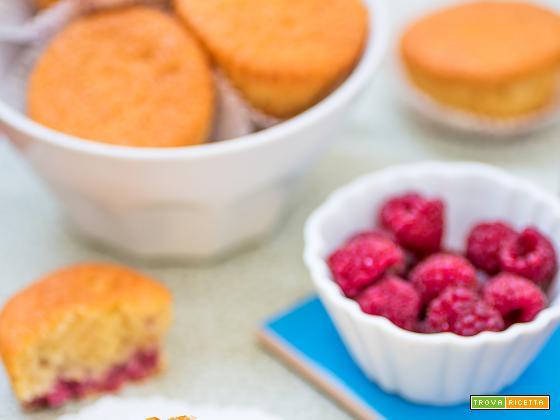 Muffin fufflosi limone & lampone