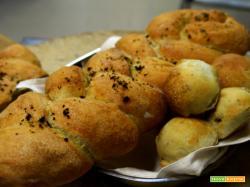 Treccia di pane aromatico