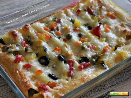 Cannelloni Vegetariani Arlecchino